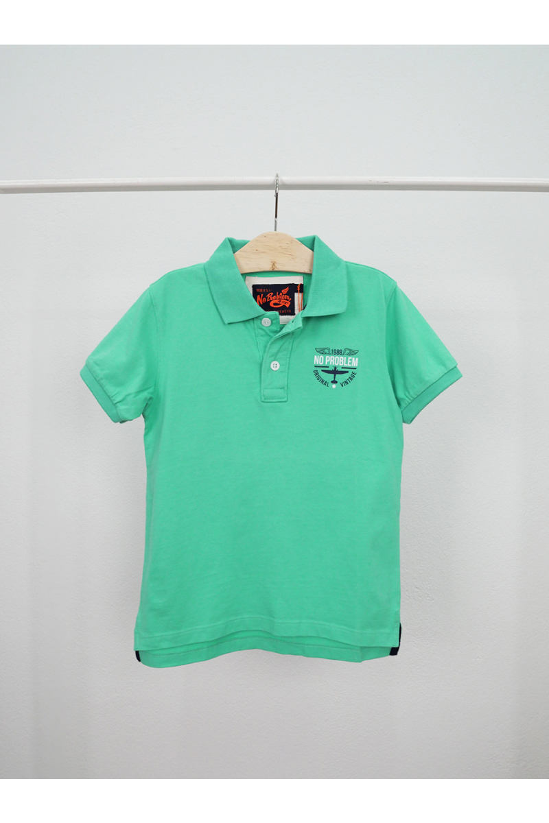 polo / original vintage style - Green