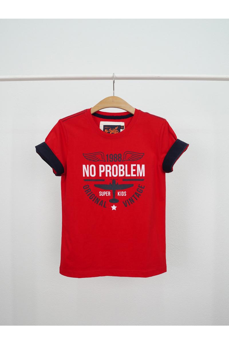 T-shirt / ORIGINAL NO PROBLEM - Red