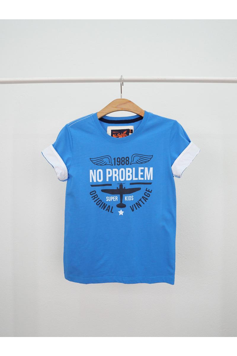 T-shirt / ORIGINAL NO PROBLEM - Blue