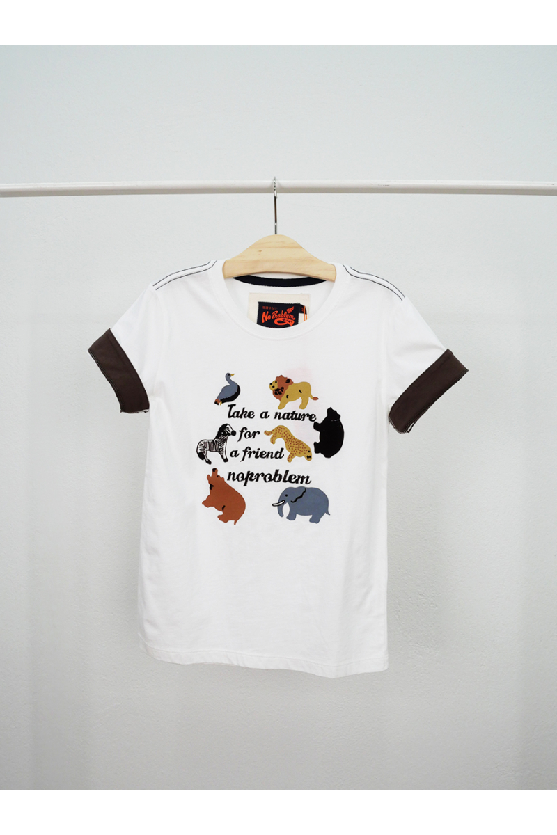 T-shirt / Zoo - White