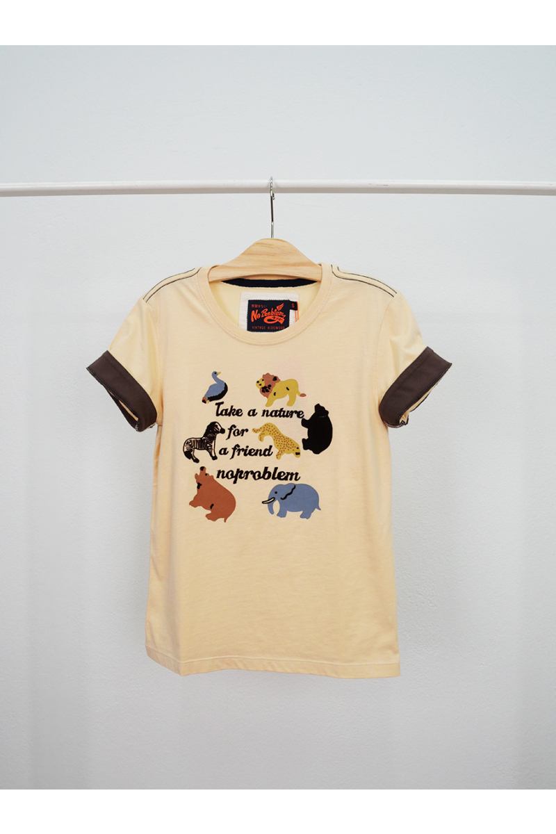 T-shirt / Zoo - Beige
