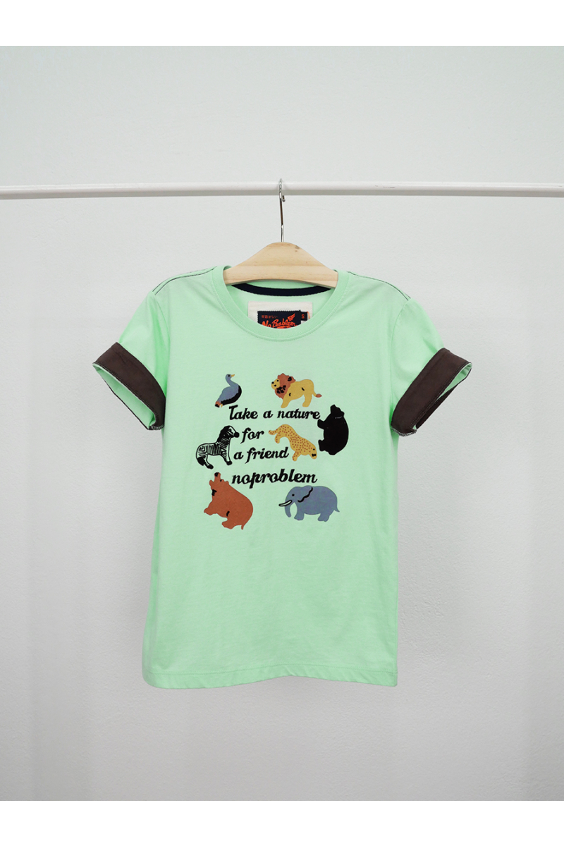 T-shirt / Zoo - Green
