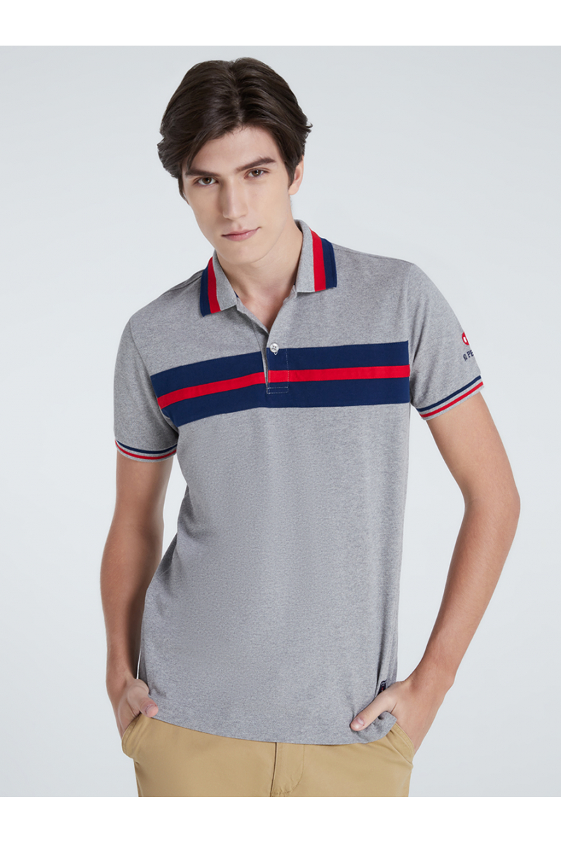 COLORS BLOCK POLOS - TOP DYED