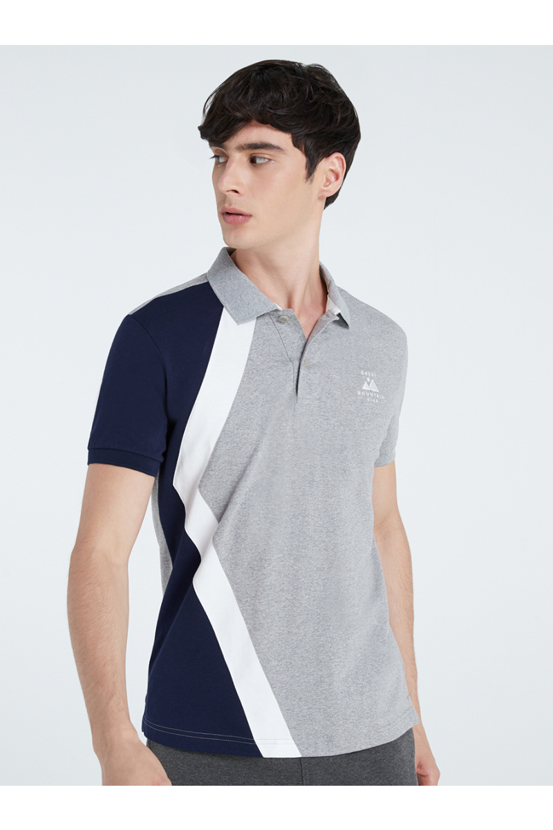 MOUNTAIN EMBROIDERY POLOS - TOP DYED