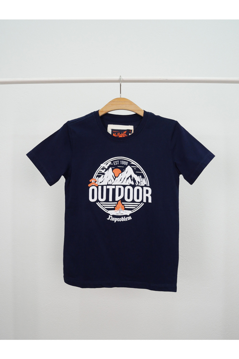 T-shirt / OUTDOOR - Navy