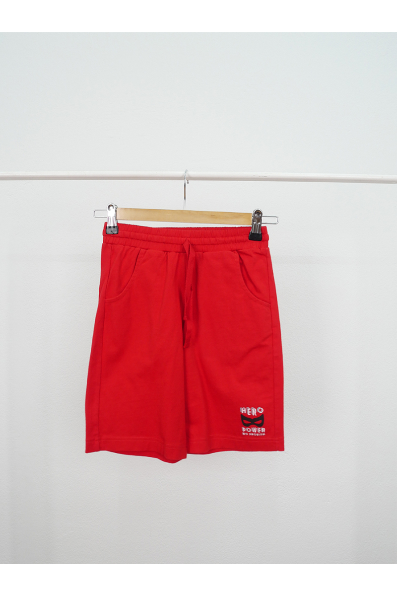 Short pants / HERO POWER - Red