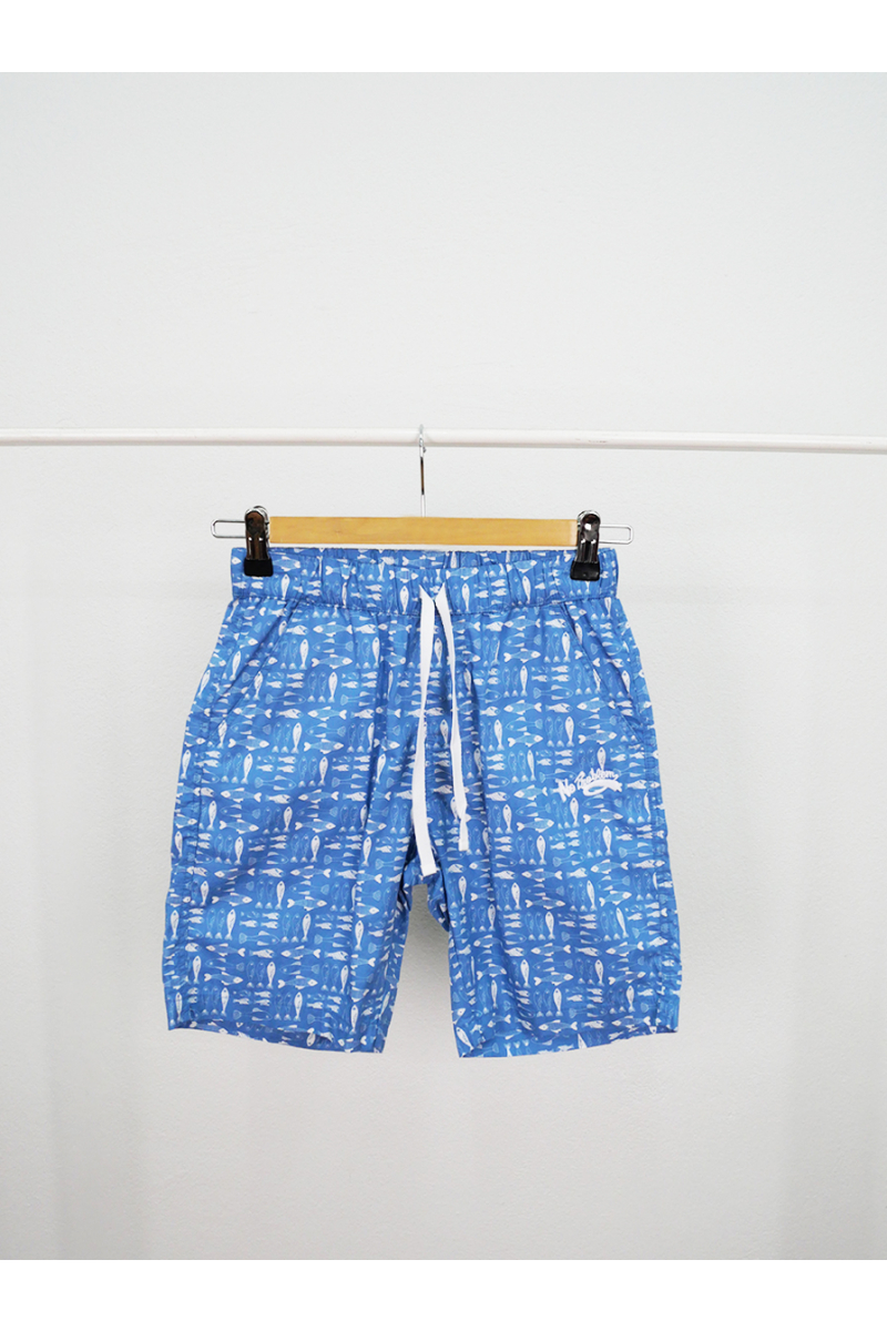 Short pants / Sea World Fish - Blue
