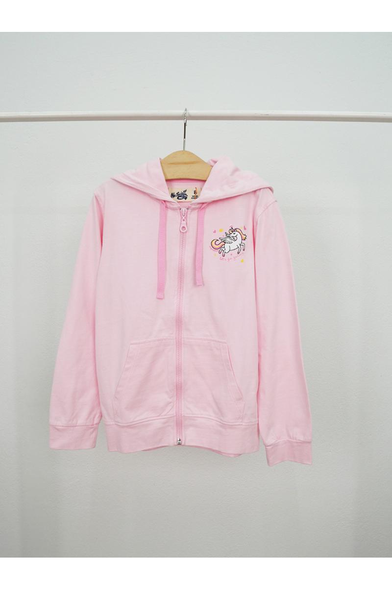Jacket Cute unicorn pattern - Pink