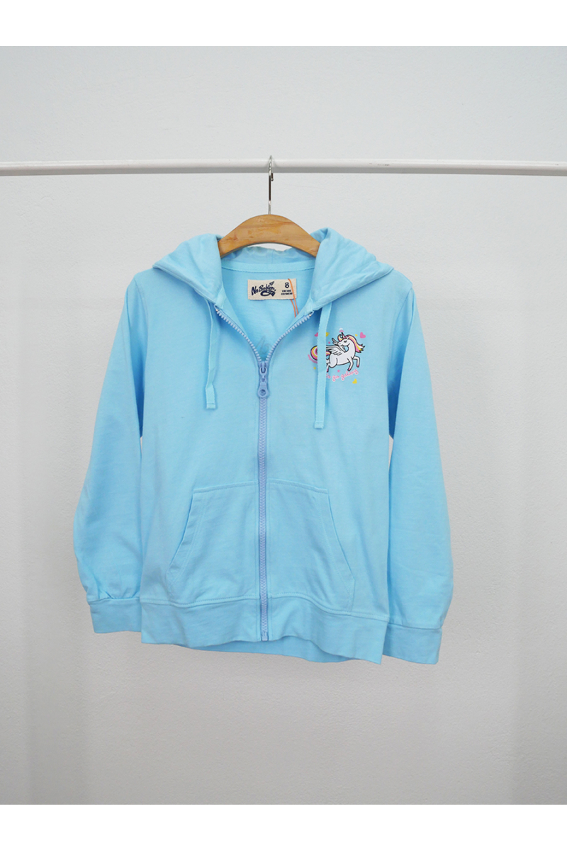 Jacket Cute unicorn pattern - Blue