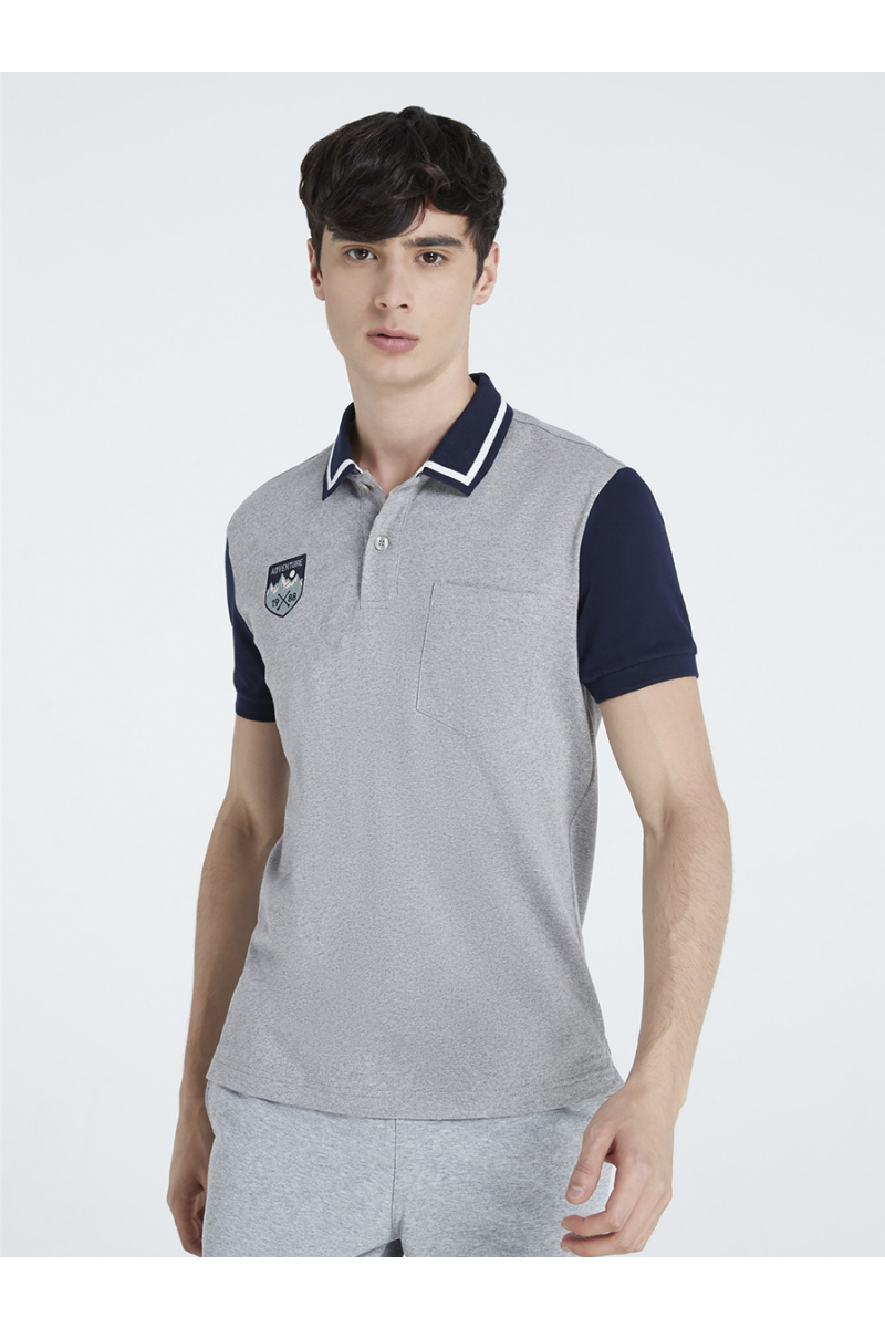 ADVENTURE EMBROIDERY POLOS - TOP DYED