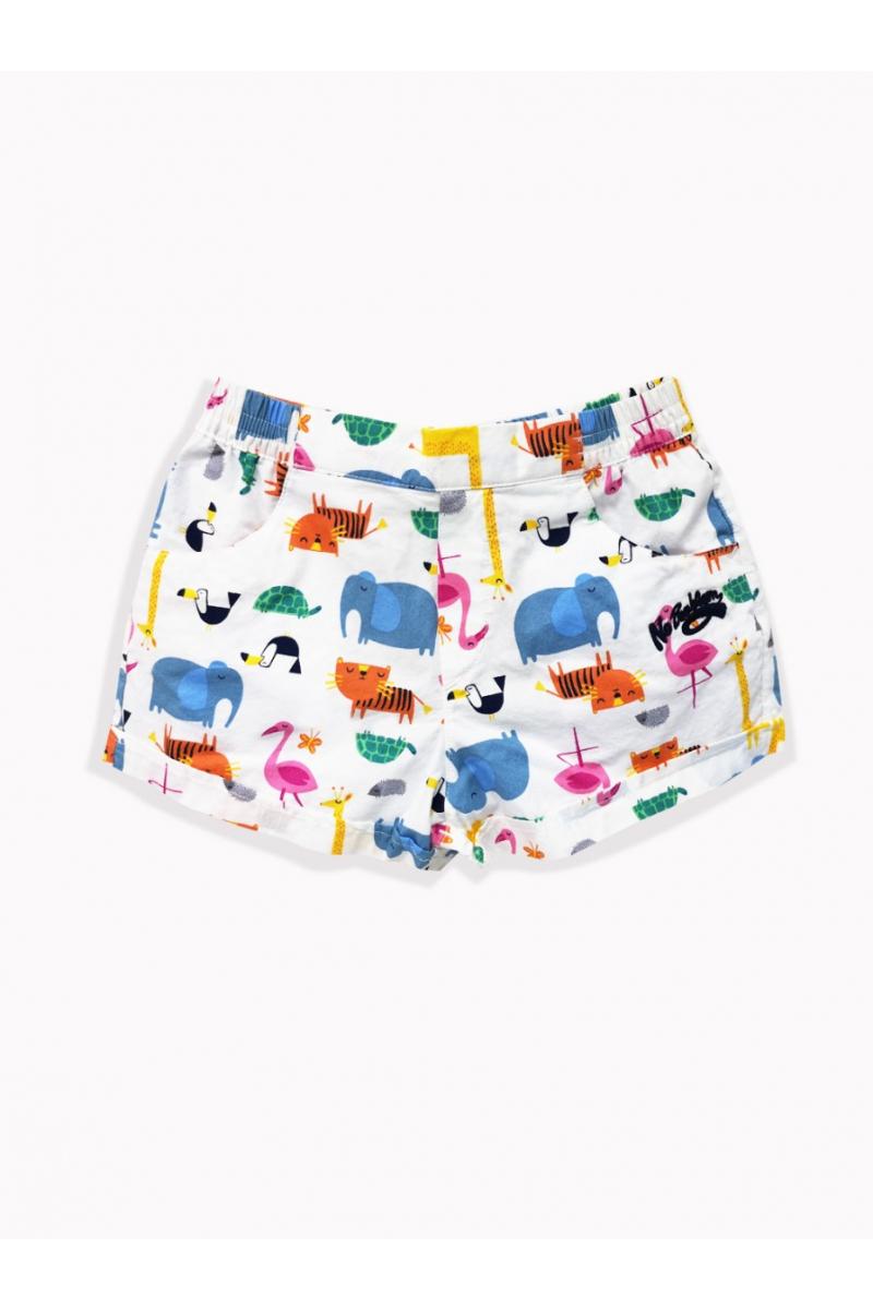 Shorts Nkg63501 - White Zoo