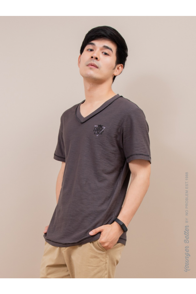 West Coast T-SHIRT-YOUNG STYLE - Dark Gray