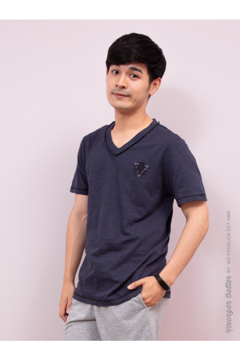 West Coast T-SHIRT-YOUNG STYLE - Navy Blue